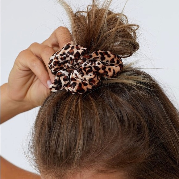 Accessories - ZEBRA Print Velvet Scrunchie